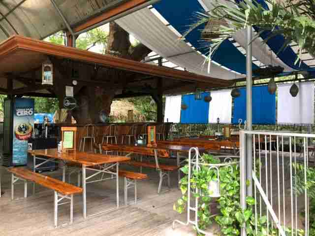Bar and Dinning Area